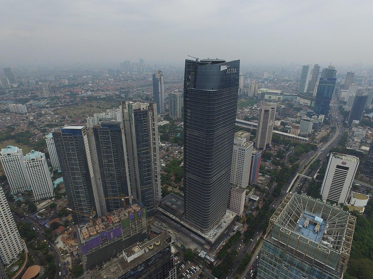 1200px Menara Astra 1 - Inilah 6 Bangunan Tertinggi di Indonesia