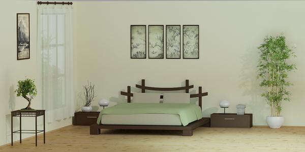 Zen style Bedroom Glamor Ideas 1 1 - Renovasi Kamarmu Dengan Interior Kamar Tidur Minimalis Agar Lebih Eksklusif
