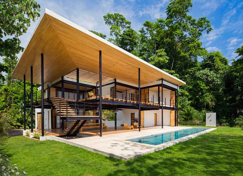 contemporary architecture 200816 01 800x579 1 - Berbagai Model Rumah Terkini Bergaya Minimalis