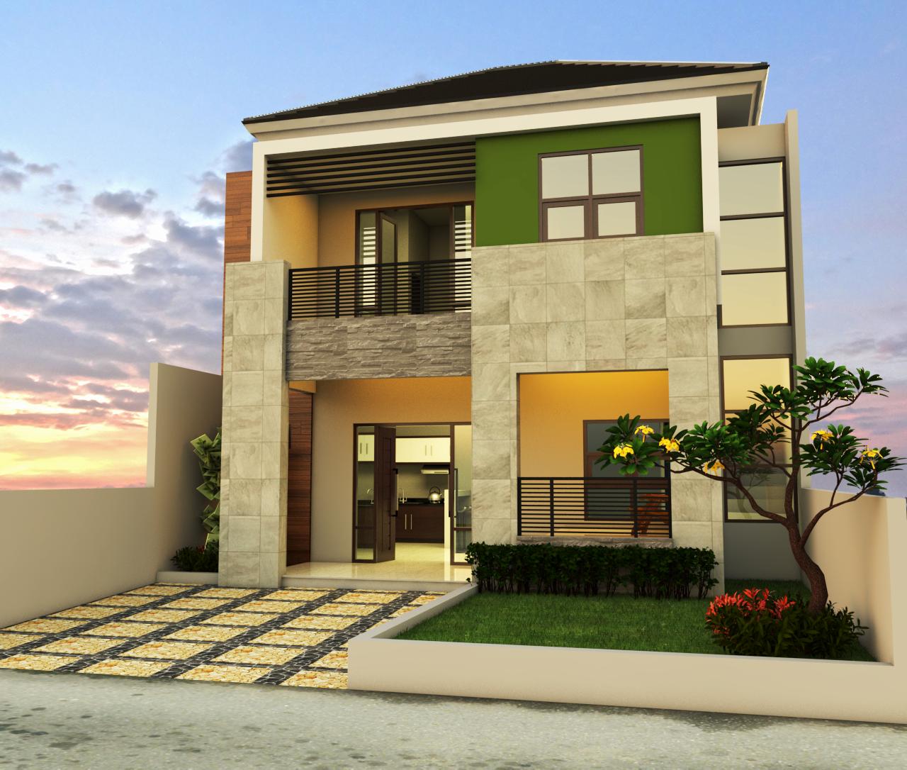 11 Desain RUmah MInimalis 2 Lantai 7 X 9 M2 1 - Desain Rumah Ukuran 8x12 dan Pertimbangan Pemilihan