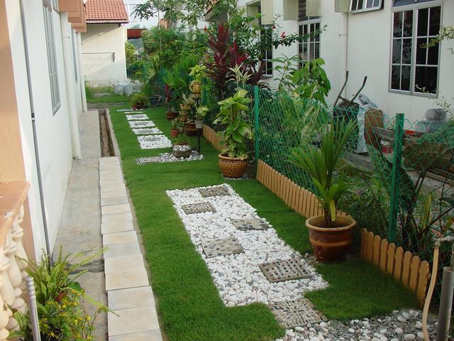 Contoh Taman Rumah Minimalis7 1 - Buatlah Denah Rumah Minimalis Sederhana Seperti Berikut Agar Tidak Terkesan Sempit