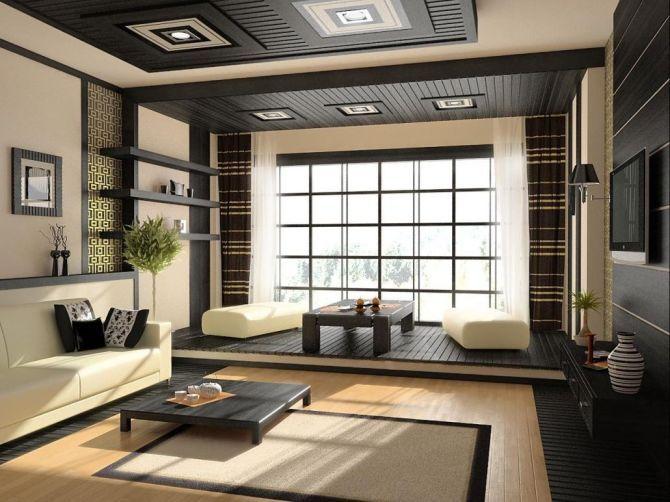 MODEL RUANG TAMU ELEGAN BERGAYA JEPANG TERBAIK e1412650735533 1 - 8 Tips Desain Rumah Ala Jepang yang Bikin Suasana Jadi Tentram