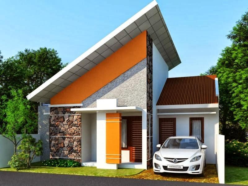 Teras Rumah Minimalis Tipe 45 12 1 - Desain Rumah Minimalis Type 45 Dengan Suasana Rumah Lebih Tenang dan Menyenangkan