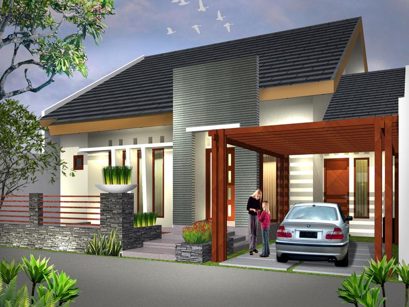 Teras Rumah Minimalis Tipe 45 7 1 - Desain Rumah Minimalis Type 45 Dengan Suasana Rumah Lebih Tenang dan Menyenangkan