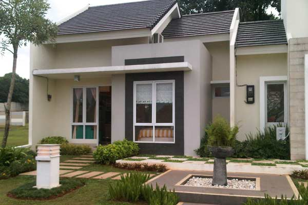 contoh desain Rumah Minimalis Type 45 1 - Desain Rumah Minimalis Type 45 Dengan Suasana Rumah Lebih Tenang dan Menyenangkan