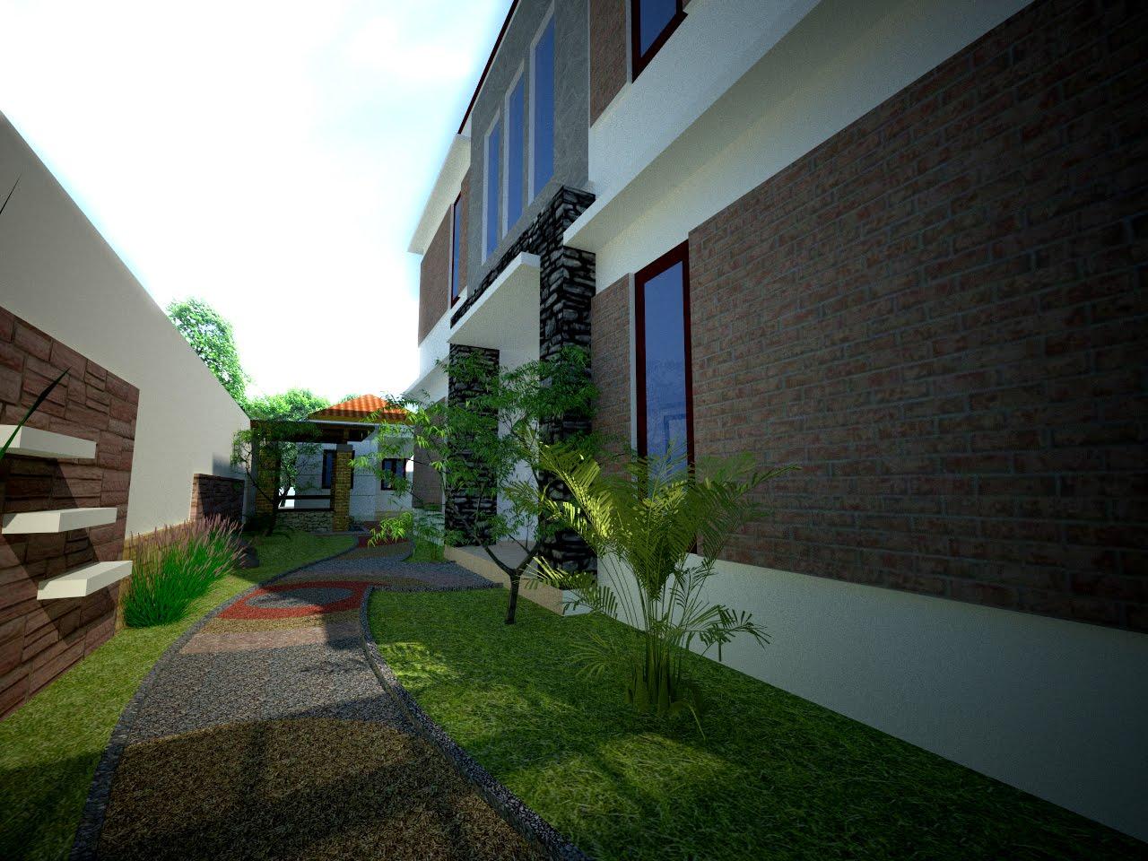 taman 1 - Inspirasi Desain Taman Rumah di Lahan Sempit Mungil Nan Cantik