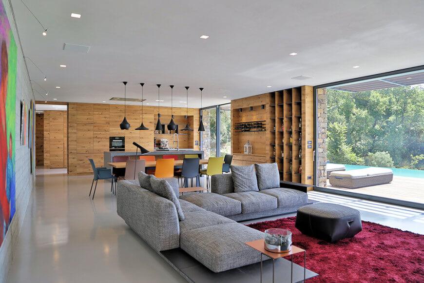 06 Giordano Hadamik Villa Nemes 870x580 1 - Pilihlah Konsep Desain Interior Rumah Sederhana Agar Merasa Nyaman dan Betah di Rumah