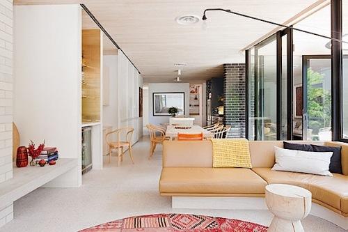 Interior rumah minimalis dengan warna pastel lembut 1 - Pilihlah Konsep Desain Interior Rumah Sederhana Agar Merasa Nyaman dan Betah di Rumah