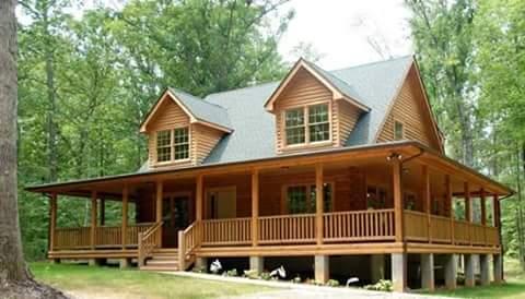 rumah kayu minimalis 7 1 - Desain Rumah Kayu Sederhana yang Artistic