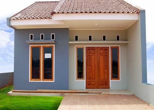 Rumah type 36 sederhana 1 - Ragam Desain Rumah di Kampung Sesuai Dengan Tipe Model