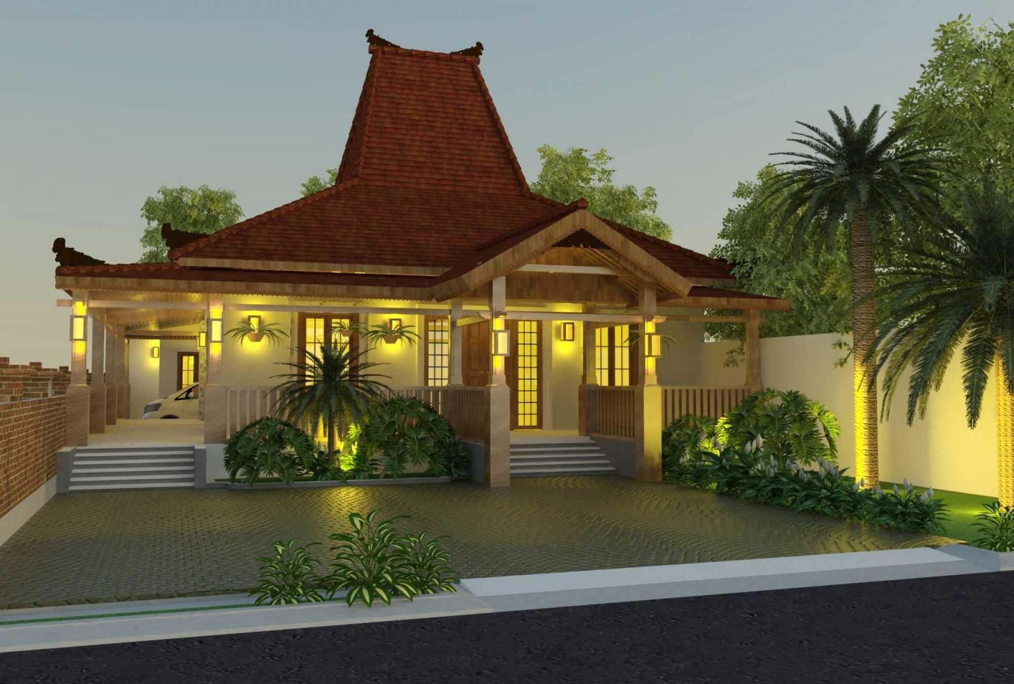 desain limasan klasik Paling Ideal Denah Rumah