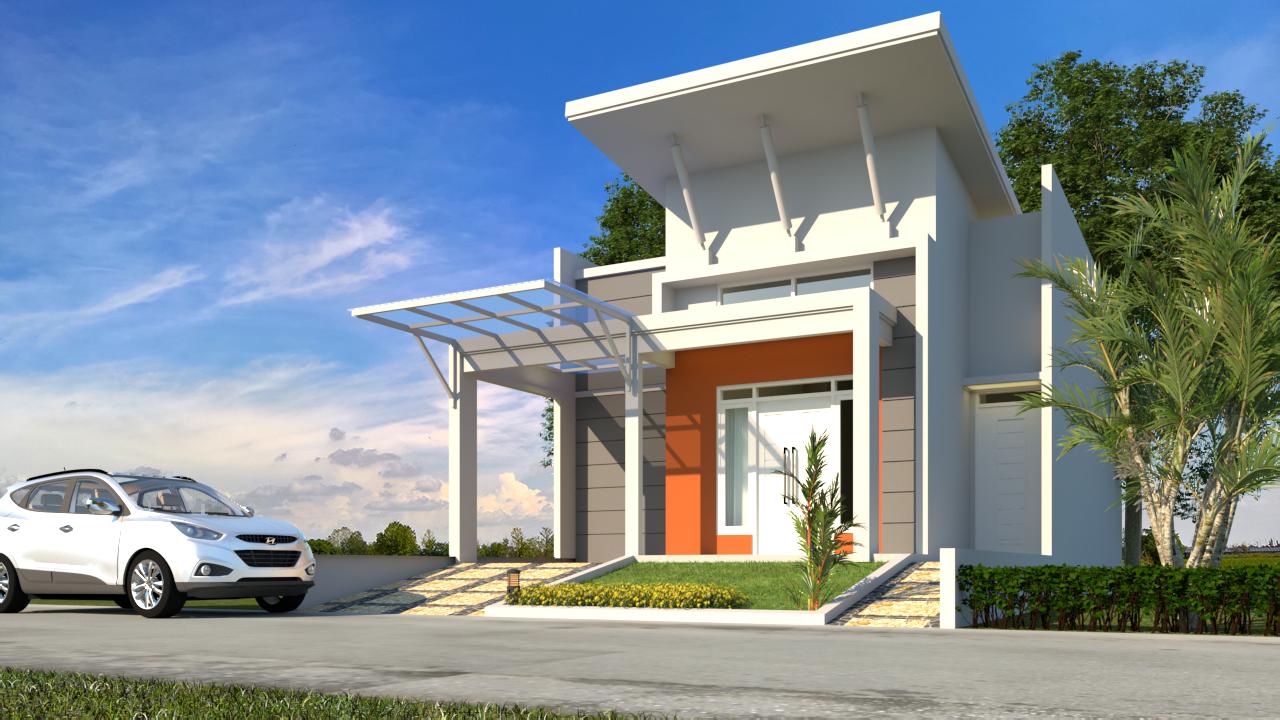 1 2 - Desain Rumah Minimalis 1 Lantai