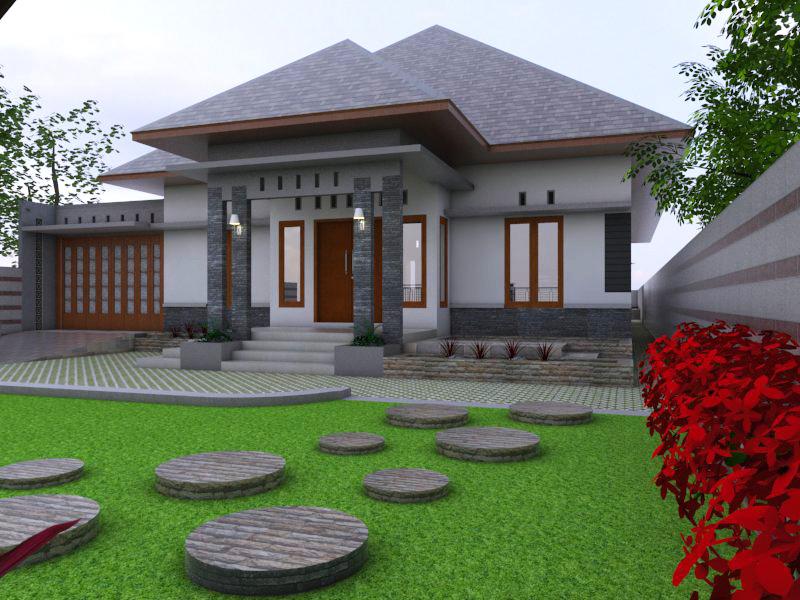 10 14 f1 - Desain Rumah Minimalis 1 Lantai
