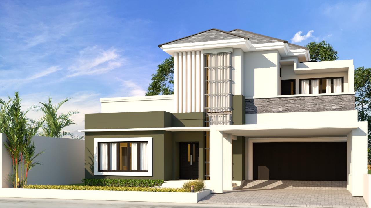 2.Denoiser - Desain Rumah Minimalis 2 Lantai