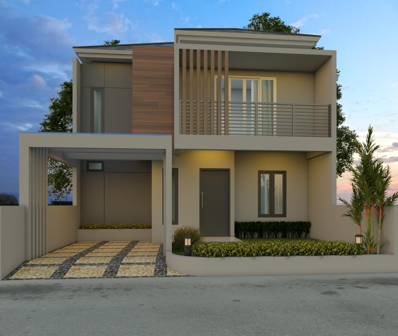 4.Denoiser 1 - Desain Rumah Minimalis 2 Lantai