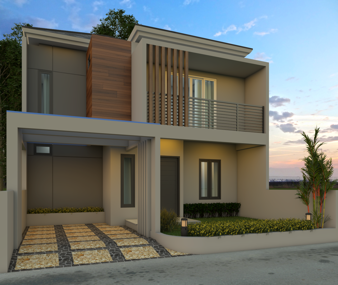 6.Denoiser - Desain Rumah Minimalis 2 Lantai