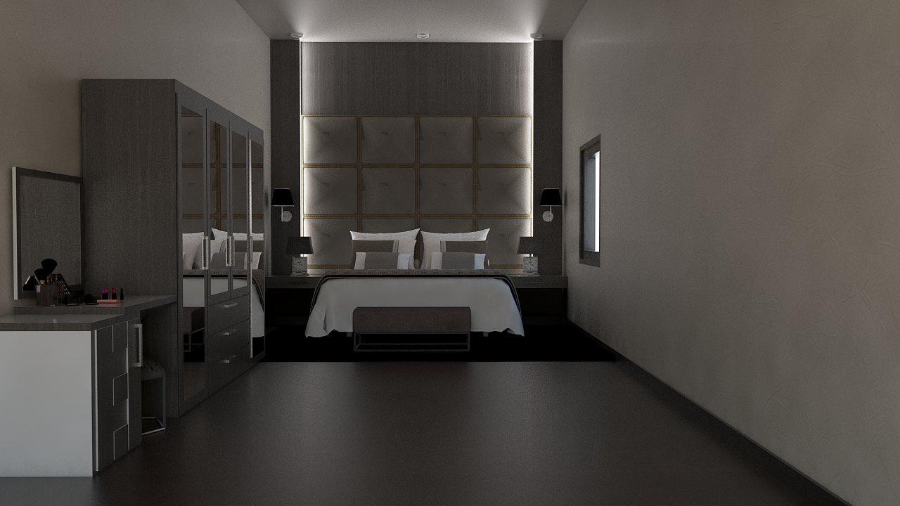A1 - Desain Interior Kamar Tidur